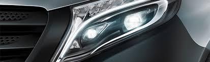 led intelligent light system mercedes benz vito range medium sized vans