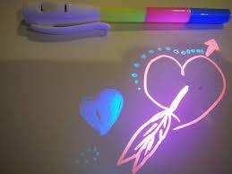 uv marker and light popular permanent invisible uv pen ch6019 three uv colors uv marker