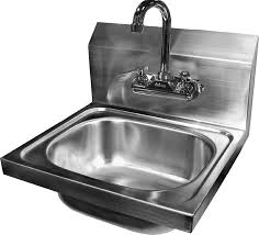 wall mounted ss sink ace wall mount stainless steel hand sink with no lead faucet and