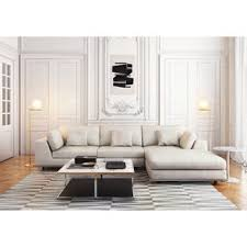 cool sectional sofas modern sectional sofas allmodern