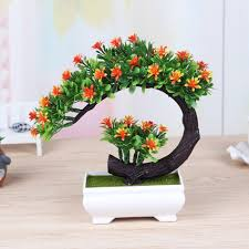 fake flowers for home decor click to buy u003c u003c 2017 new artificial flower bonsai tree for sale