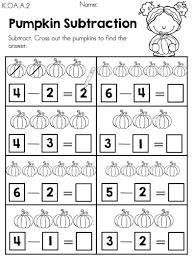 autumn kindergarten math worksheets kindergarten math worksheets