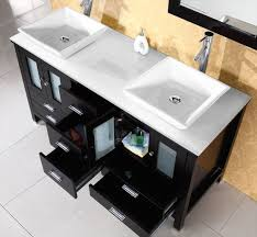 Bathroom Vanity 60 Inch Double Sink by Virtu Usa Md 4305 S Es Bradford 60 Inch Bathroom Vanity With