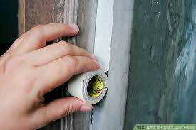 painting door frames how to paint a door frame 12 steps with pictures wikihow