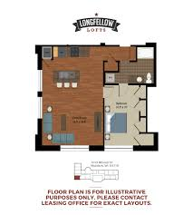 1 bed 1 bath apartment in madison wi longfellow lofts historic