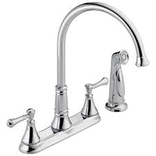 mr direct kitchen sinks reviews 2497lf two handle kitchen faucet with spray