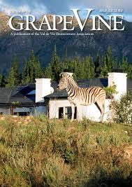 sle resume journalist position in kzn wildlife cing val de vie pearl valley grapevine magazine july 2016 by val de vie