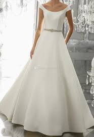 classic wedding dresses simple clean classic wedding dresses 2017 cap sleeves