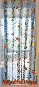 Bead Curtains For Doors Door Beaded Curtains Door With Sea Shells Seashells