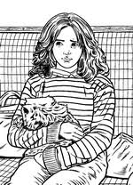 ginny weasley coloring pages coloring page harry potter and the prisoner of azkaban harry
