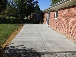 backyard concrete patio salodinfo com