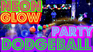 glow in the party ideas for teenagers neon glow party dodgeball blacklight party ideas kids