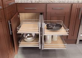 kitchen cabinet space corner storage make the most of to reach storage space in the kitchen