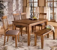 Ashley Furniture Farmhouse Table by Faux Leather Ladder Black Hardwood Ashley Furniture Kitchen Table