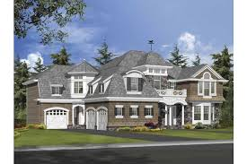 house plans with turrets flowing rooflines and turrets create unique curb appeal hwbdo64050