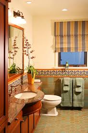 mexican tile bathroom designs mexican tile bathroom eclectic with blue basin