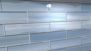 blue glass tile kitchen backsplash big blue bodesi