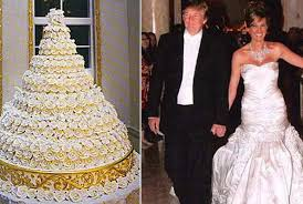 wedding cake kate middleton donald and melania knauss s grand marnier wedding cake from