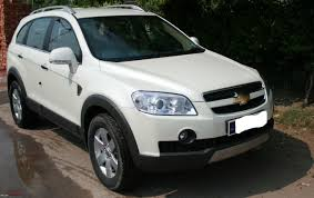 my new chevrolet captiva ltz pearl white team bhp
