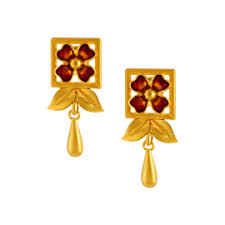 gold earrings online gold earrings online gold earrings for women p c chandra