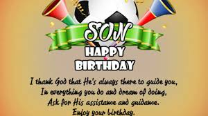 birthday messages for son birthday greetings for your son wishes