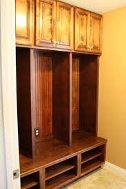 interior wooden mudroom for shirt and shoes with metal clothes