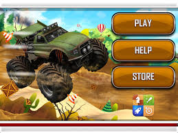 monster truck video games 4x4 monster truck 2d racing stunts game app ranking and store