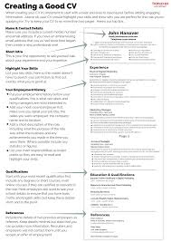 resume writing tutorial good cv cv example good cv