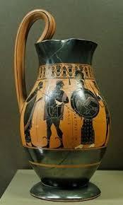 Greek Black Figure Vase Painting Ancient Greek Pottery And Vases