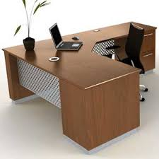 L Shape Executive Desk Modern L Shaped Executive Desk With Metal Wood Officepope