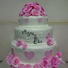 wedding cake murah sell wedding cake stacking from indonesia by khena cake cheap price
