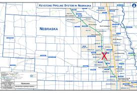 Keystone Xl Pipeline Map The Central City Republican Nonpareil Keystone Xl Back On Track