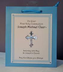 holy communion gifts 1st holy communion gift bag