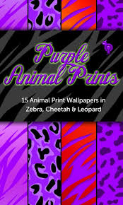 purple animal prints wallpaper android apps on google play
