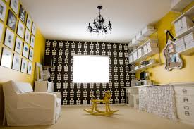 Yellow Black Room Black White Yellow Grey Black White And Yellow All Over