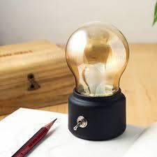 aliexpress com buy new vintage bulb night light retro usb lamp