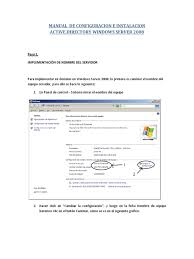 manual de configuracion dns windows server 2008