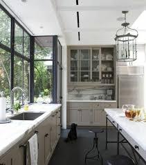 cuisine couleur gris cuisine grise et blanche cuisine blanc laque plan travail bois 3