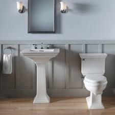 pedestal sink towel bar bathroom pedestal sink bathroom ideas bancroft kohler plumbing