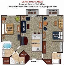 disney saratoga springs treehouse villas floor plan beautiful saratoga springs two bedroom villa floor plan floor plan