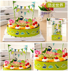dinosaur birthday party supplies dinosaur birthday party wedding cake topper cake bunting banner
