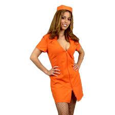 Prisoner Halloween Costumes Wardens Mistress Prison Costume Prisoner Costumes