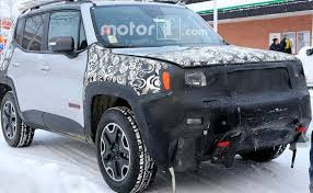 jeep renegade convertible 2019 jeep renegade facelift interiors spied ndtv carandbike