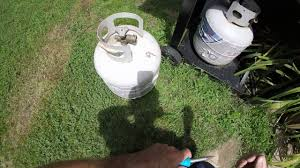 Backyard Grill Refillable Propane Tank by How To Fix A Propane Tank Low Or No Pressure Youtube