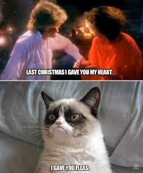 Christmas Grumpy Cat Meme - last christmas grumpy cat know your meme