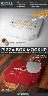 pizza box psd mockup free psd templates free photoshop