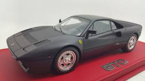 ferrari new model new exclusive 1 18 bbr car model black ferrari 288 gto 1984 red