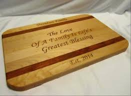 personalized cutting board personalized cutting board custom engraved family large