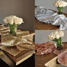 gold party decorations sparkle chagne gold wedding table runner gold party decor