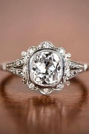 vintage weddings rings images 33 vintage engagement rings with stunning details pinterest jpg